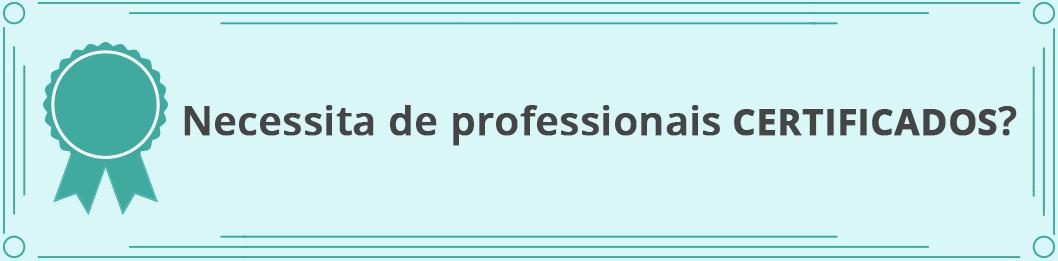 profissionais certificados