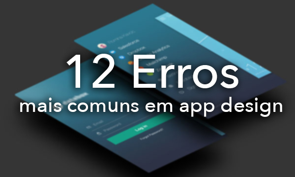 imagem de erros em app design
