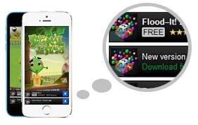 telemóveis com aplicações de jogos