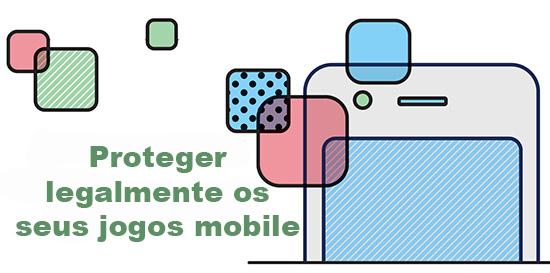 design de smartphone e quadrados coloridos
