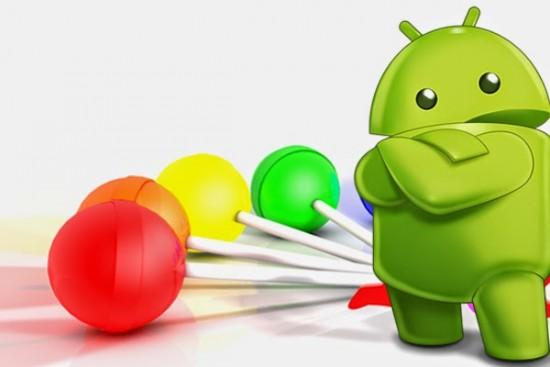 Logotipo do Android com doces