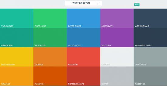 display com cores diferentes