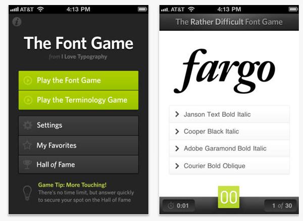 aplicativo para escolher o tipo de escrita